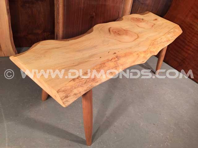 Pine Slab Bench