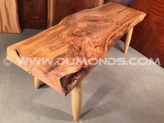 Extra Thick Maple Bench