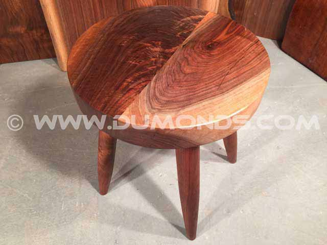 Highly Figured Walnut End Table