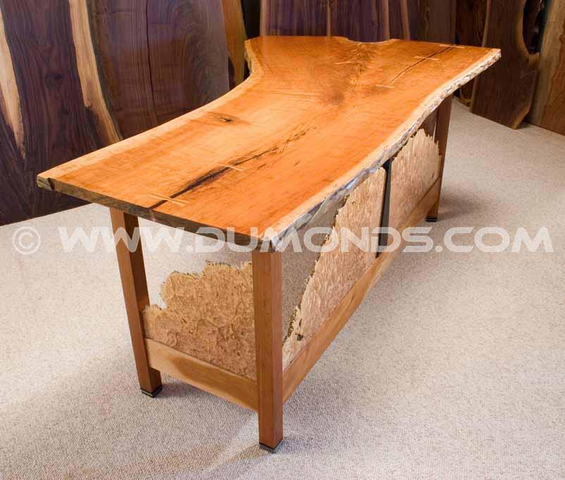cherry 6' custom desk