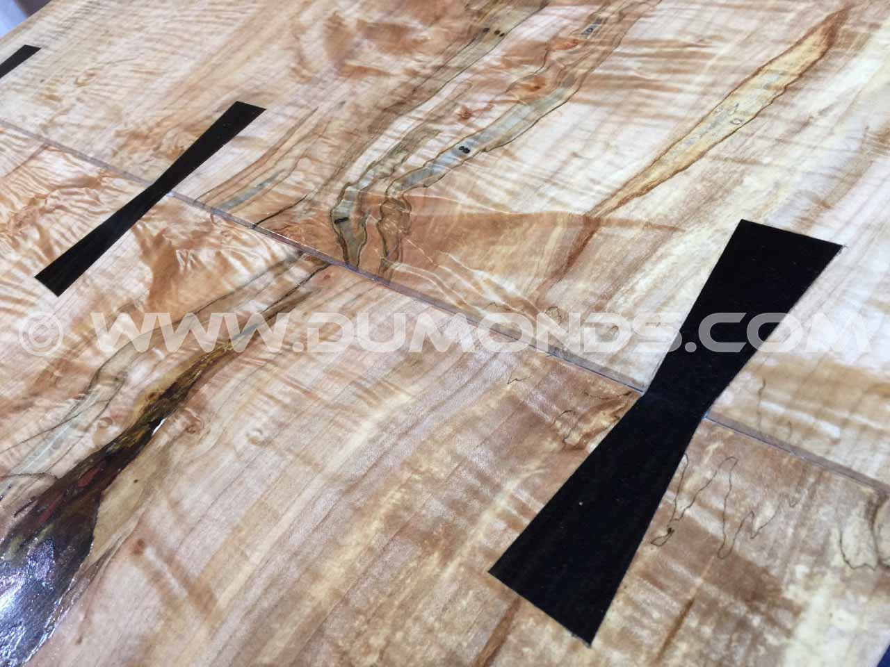 curly or tiger maple