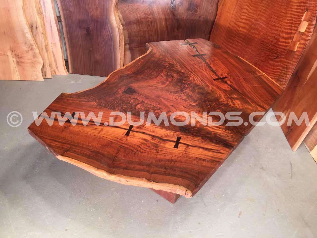 claro walnut crotch table
