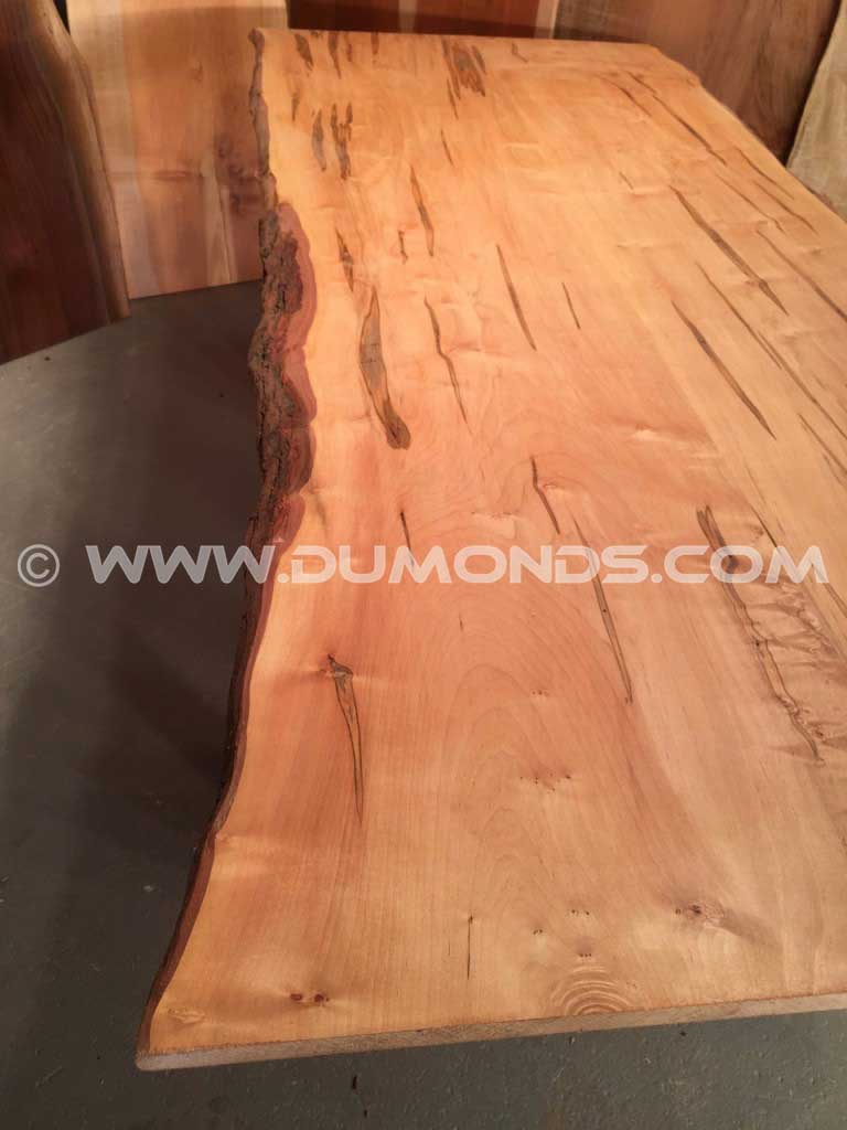 Ambrosia Maple Natural Edge Countertop