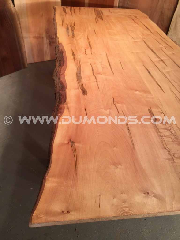 Ambrosia Maple Custom Natural Edge Bar Top