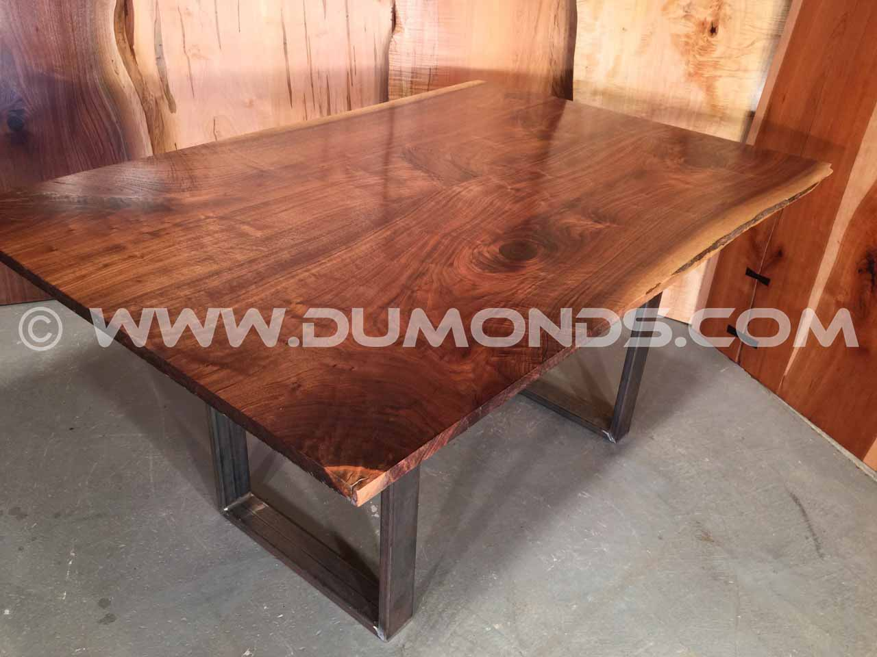 walnut custom table