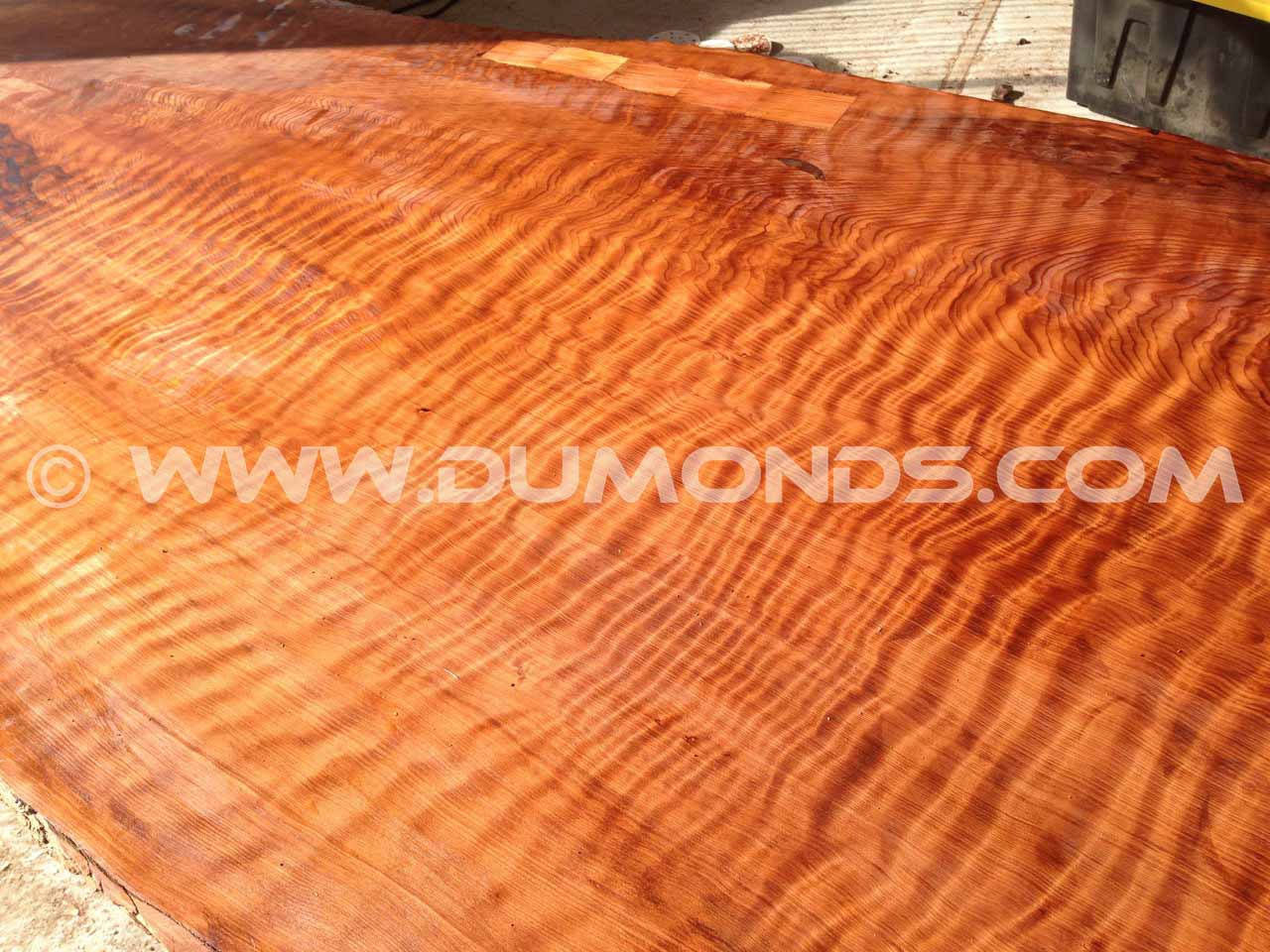 tiger striped redwood top