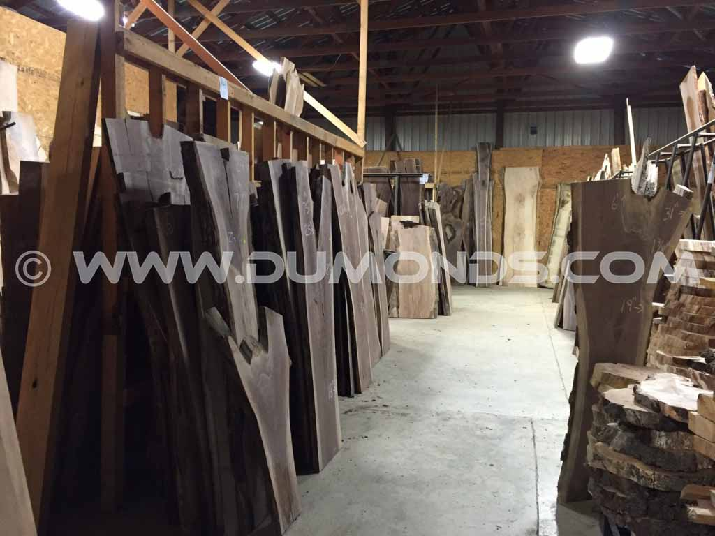 Custom Natural Edge Wood Slab Tabletops