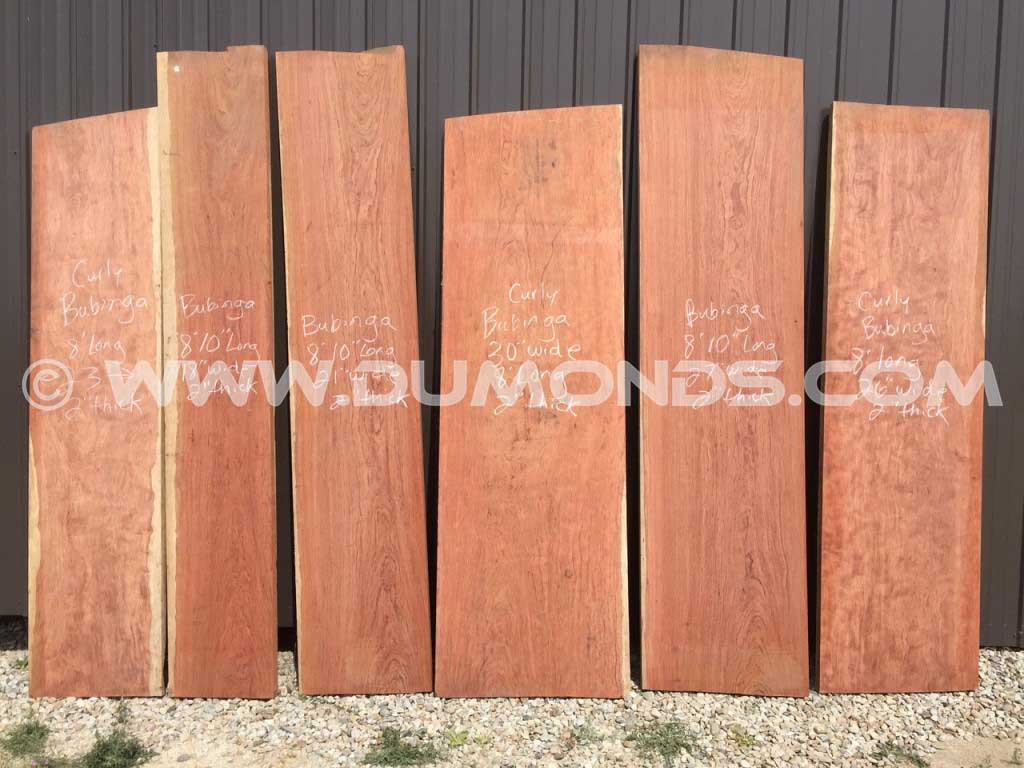 Custom Bubinga Bar Tops