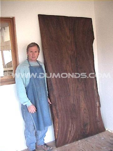 Large Claro Walnut Slab
