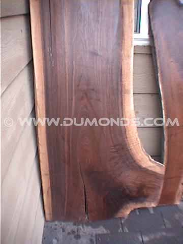 American Black Walnut Crotch Slab