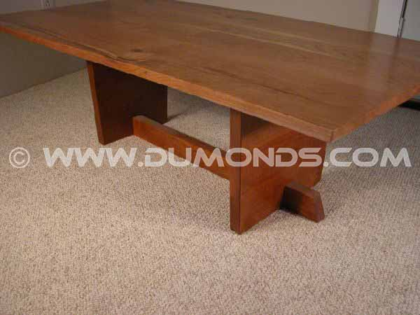 Rustic Knotty Cherry Custom End Table