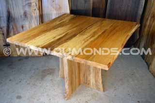 Spalted Quilted Sycamore Dining Table