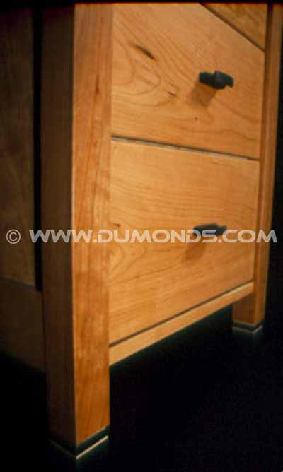 Cherry Rustic Custom Executive Desk