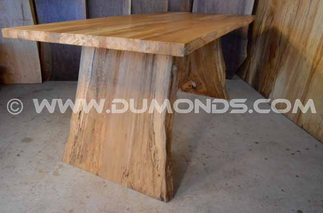 Quarter Sawn Spalted Sycamore Live Edge Table