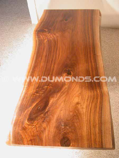 Walnut Slab Rustic table