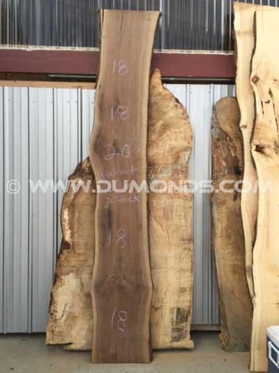 10 Foot Rustic Walnut Bar Top