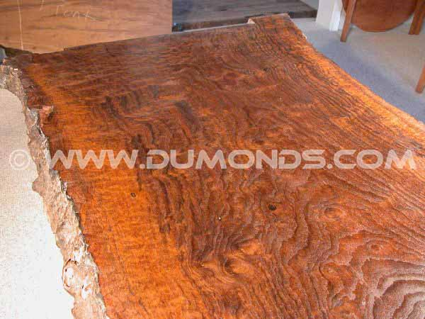 Walnut Slab Custom Dining Table