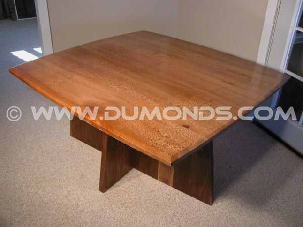 Sycamore Slab Custom Dining Table