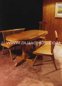 Recycled Rustic Custom Country Dining Table